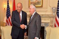 گفتگو وزرای خارجه مصر و آمریکا در مورد عفرین
