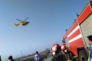اعزام نیروهای امداد رسان البرزی به محل سقوط هواپیما