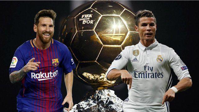 رقابت مجدد رونالدو و مسی برای کسب توپ طلا
