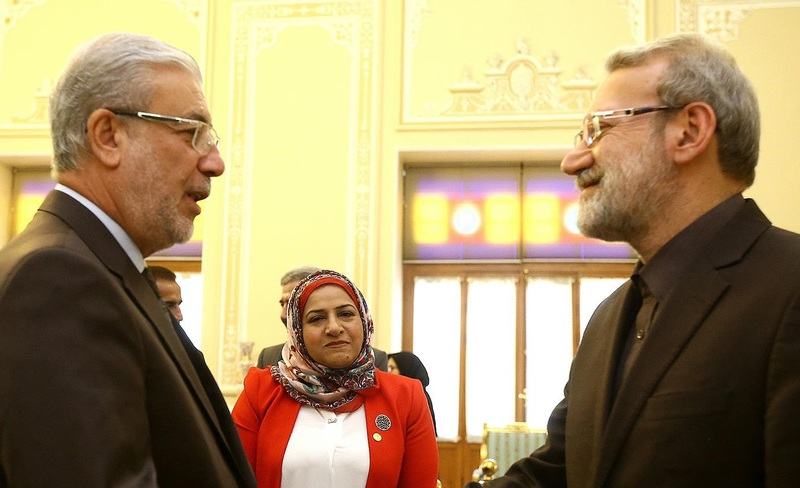 دیدار نایب رئیس مجلس عراق با لاریجانی