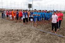 آغاز ششمین دوره مسابقات هندبال ساحلی جوانان کشور در منطقه آزاد انزلی