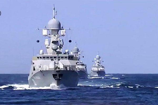 ناوگان روسیه در دریای خزر به حالت آماده باش درآمد