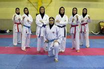 صعود نخستین بانوی کاراتهکای ایرانی به نیمه نهایی باز یهای اسلامی