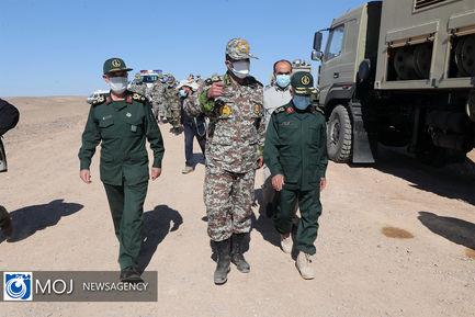روز دوم رزمایش مشترک پدافند هوایی مدافعان آسمان ولایت ۱۴۰۰
