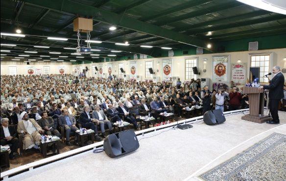 مراسم تودیع و معارفه مدیر عامل فولاد مبارکه برگزار شد