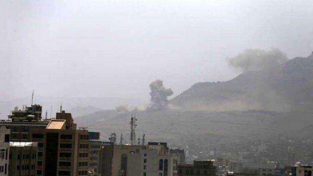 سرنگونی یک پهپاد ائتلاف عربی توسط نیروهای وابسته به انصارالله