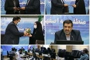 تکریم و معارفه رئیس اداره هماهنگی و پیگیری مخابرات اصفهان