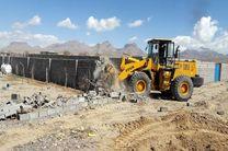 آزاد سازی ۱۱ هزار متر زمین کشاورزی محمود آباد