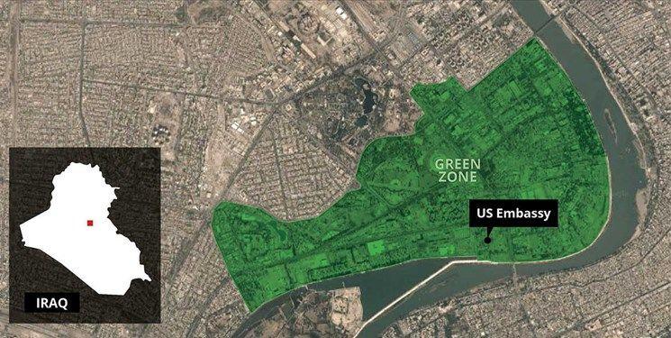 جزئیات حمله راکتی به نزدیکی سفارت آمریکا در بغداد