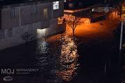 وضعیت شهرستان دلفان، قرمز است/یک چهارم منازل زیر آب رفت