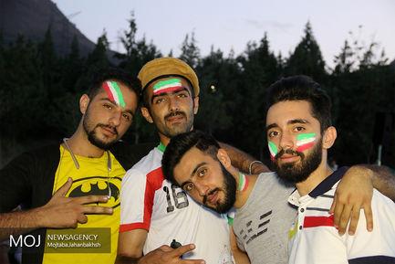 تماشای دیدار تیم های فوتبال ایران و پرتغال