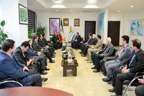 رویکرد نیروی انتظامی همراهی در تحقق اهداف و برنامه های توسعه ای منطقه آزاد انزلی