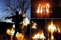 بیش از 70 مورد حریق و حادثه درشب چهارشنبه آخر سال اصفهان
