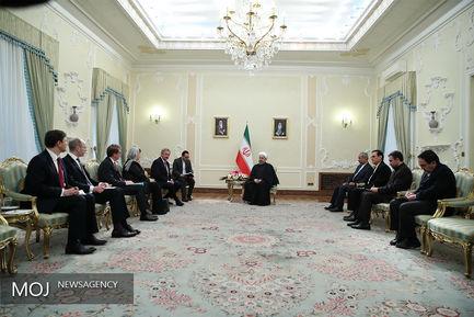 دیدار رییس جمهور  با وزیر خارجه لوکزامبورگ