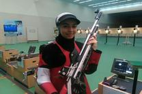نائب قهرمانی بانوی تیرانداز قم در رقابت های انتخابی تیم ملی