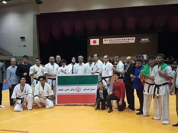 درخشش کاراته بازان ایرانی در ژاپن