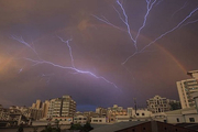 رگبار پراکنده و وزش باد شدید موقتی در برخی مناطق کشور