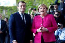 توافق مرکل و ماکرون بر سر تدوین نقشه راه برای تعمیق همگرایی اروپا
