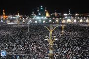 احیای شب بیست و یکم ماه مبارک رمضان در حرم مطهر رضوی