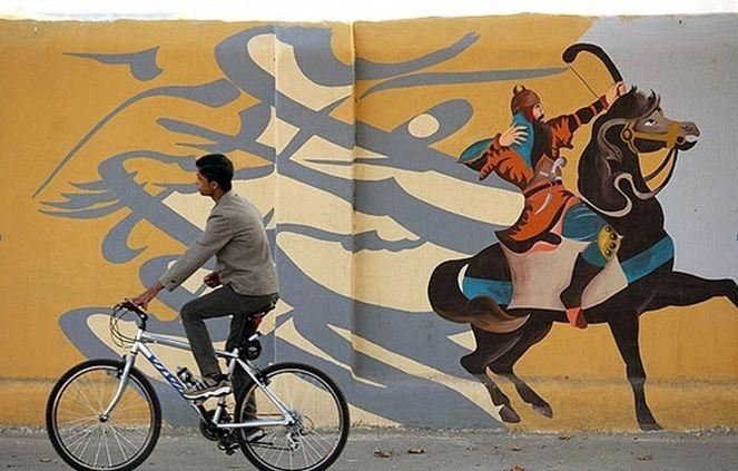 زیباسازی معابر  منطقه یک را به دست نقاشان می سپاریم