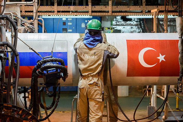 گازپروم وام ۲.۱۴ میلیارد یورویی به اوپراتور ترکاستریم می دهد