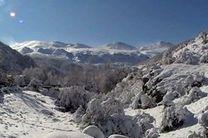 بارش برف و باران و کاهش محسوس دمای هوا در مازندران