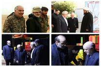 محمدنبی حبیبی با شهید «خیرالله صمدی» وداع کرد