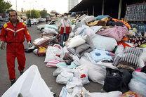 محموله موکبهای مازندران برای برگزاری مراسم اربعین به مناطق زلزلهزده روانه شد