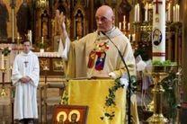 کشیش بلژیکی هدف حمله پناهجو قرار گرفت