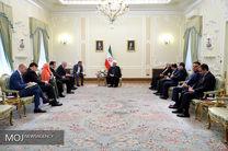 دیدار وزیر خارجه انگلیس با رییس جمهوری