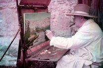 آخرین نقاشی چرچیل فروخته می شود