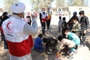 بهره مند شدن مردم 47 روستای خراسان جنوبی از خدمات کاروان سلامت هلال احمر استان اصفهان
