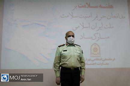 تقدیر رییس پلیس تهران از پزشکان و پرستاران