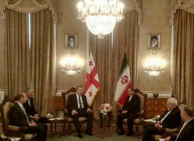 امضای شش سند همکاری میان تهران و تفلیس