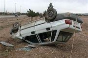5 مصدوم در اثر واژگونی خودرو پراید در اصفهان