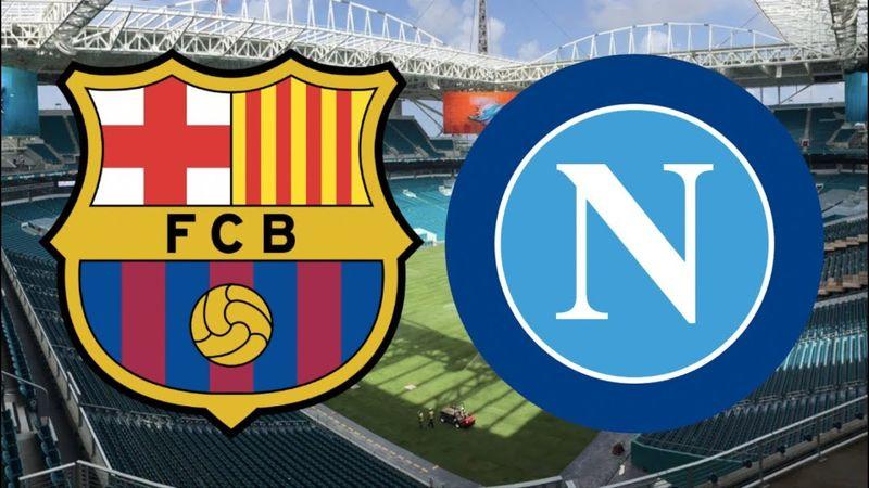 پخش زنده بازی ناپولی و بارسلونا از شبکه سه سیما