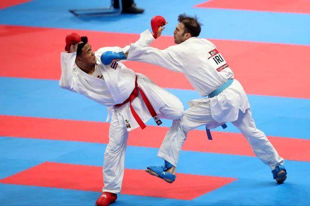 بهمن عسگری مدال طلا  را به دست آورد