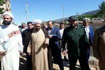 بازدید تولیت آستان قدس از مناطق سیل زده کلات