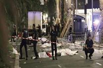 گرد مرگ بر ماسه های ساحل نیس / حامیان تروریسم جواب بدهند