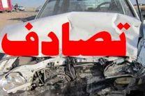 یک کشته و 4مصدوم  دربرخورد تریلی با خودروی سواری درجاده اصفهان-نطنز