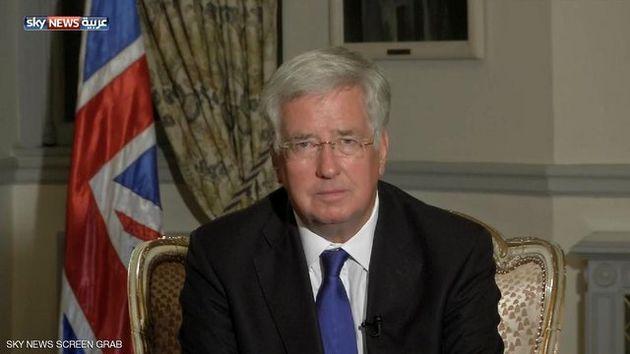 وزیر دفاع انگلیس: از اقدام نظامی آمریکا علیه سوریه حمایت خواهیم کرد