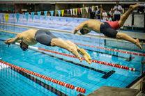 سرزمین موج های آبی، قهرمان مسابقات لیگ شنای کشور