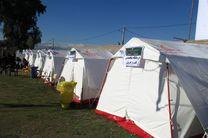 راه اندازی بیمارستان صحرایی در جزیره لارک