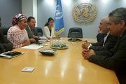 دیدارهای ظریف با معاونان دبیرکل سازمان ملل