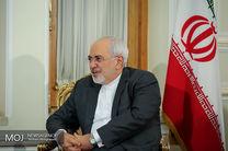 ظریف دقایقی پیش به تهران بازگشت