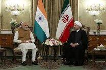 دیدار روحانی با نخست وزیر هند