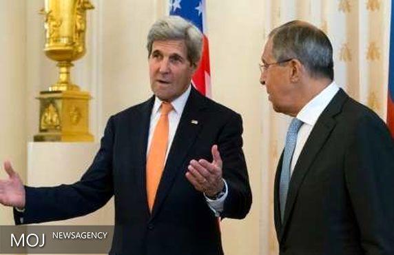 کری و لاوروف برای تنظیم جزئیات توافق همکاری در سوریه دیدار کردند