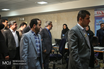 کنفرانس خبری وزیر کشور در ستاد انتخابات
