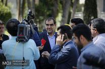 خداحافظی وزیر بهداشت در جلسه معاونین وزارت بهداشت از دولت