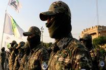 عملیات نیروهای حشد شعبی علیه تروریست های داعش در مرزهای سوریه